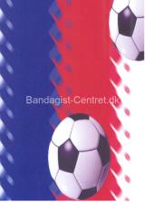 Blå/Rød/Hvid-fodbold