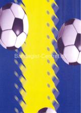 Blå-fodbold