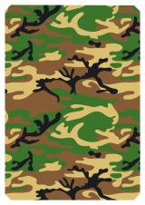 Grøn Camouflage 66